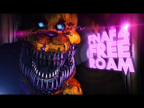 Roaming The FNAF 4 House!! | Five Night At Freddy's 4: UE4