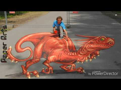 3d Street Arts 100 Amazing Street Art Painting Road Painting
