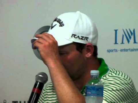 Branden Grace interview Thurs 19 Jan 2012
