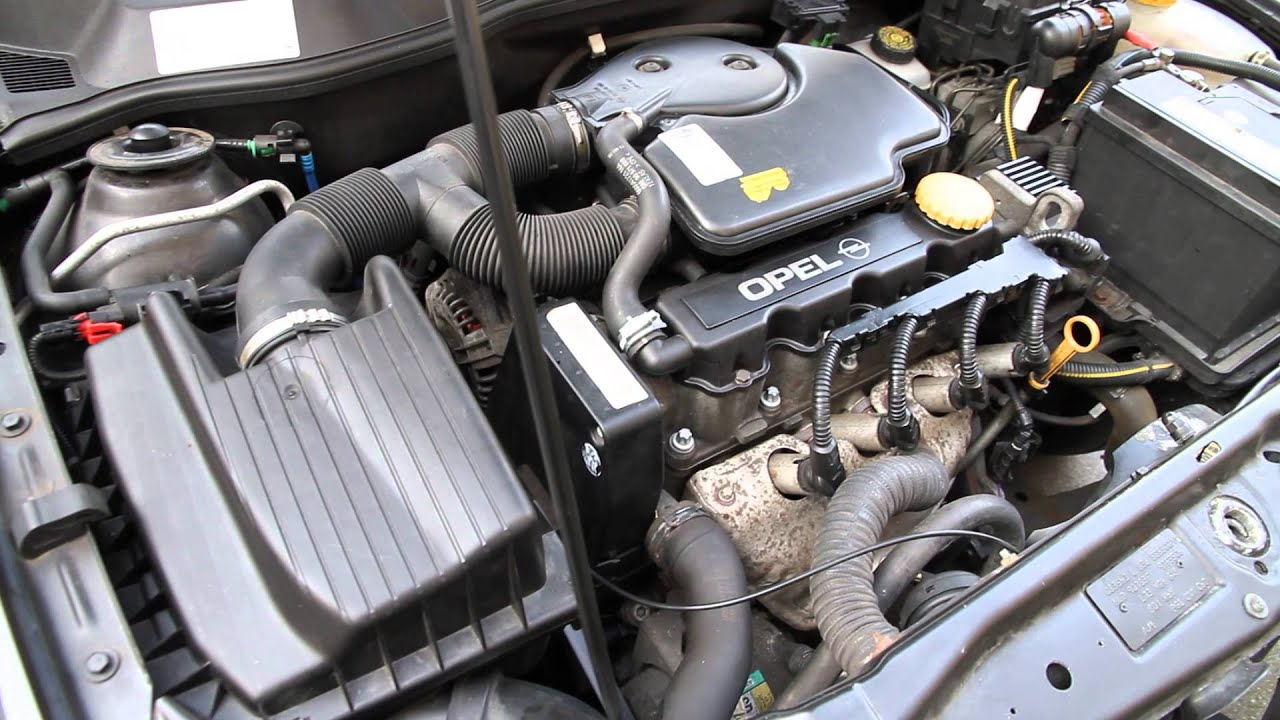 Hydraulic Lifter Tick Noise Vauxhall Holden 1 6l 2001 Tikkende Kleppen Opel Astra Station 1 6l