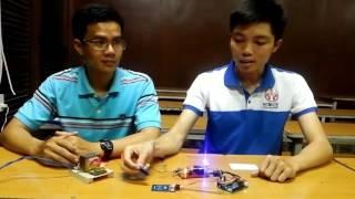 Mạch chống trộm xe máy dùng công nghệ RFID