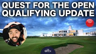 *NEWS* QUEST FOR THE OPEN UPDATE - RICK SHIELS