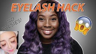 Fiber Eyelash Mascara - How To Get Long Lashes (No Falsies)
