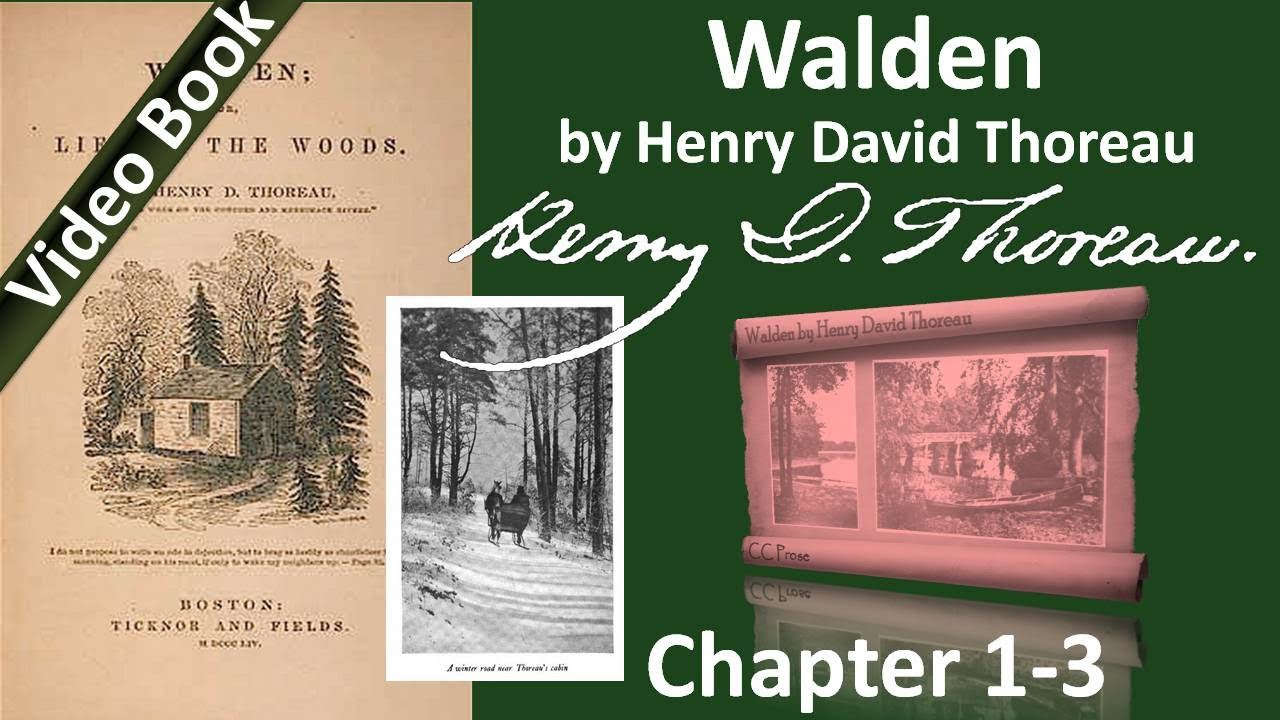 walden economy 633 quotes from walden: 'i learned this, at least, by my experiment: that if one  advances confidently in the direction of his dreams, and endeavors to li.