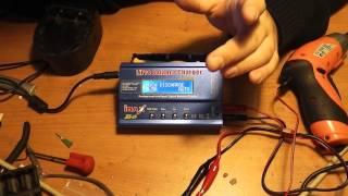Видео инструкция для зарядного устройства iMax6 - Обзор