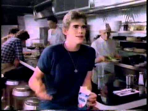 Matt Dillon 1982 Milk Commercial