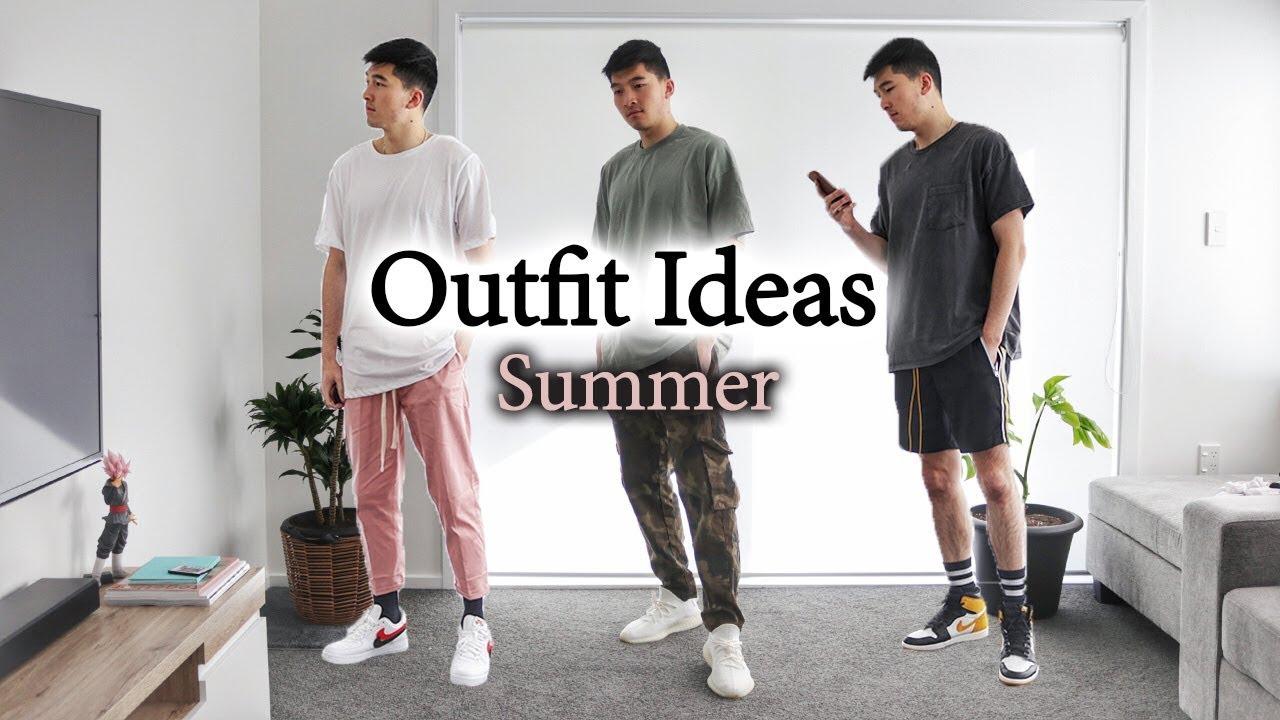 3 Fire Summer Outfit Ideas | Ft. MNML LA, Air Jordan 1, Yeezy 350 V2 & Air Force