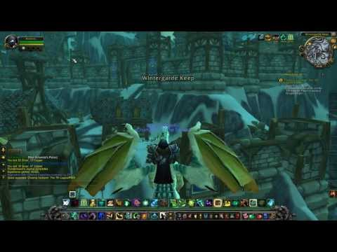 Let's play World of Warcraft Pandaren Monk Ep.62 - Wintergarde Mausoleum, Thel'zan
