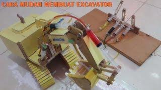 Cara Mudah Membuat Excavator   Yang bisa kamu buat sendiri di rumah   Part 1