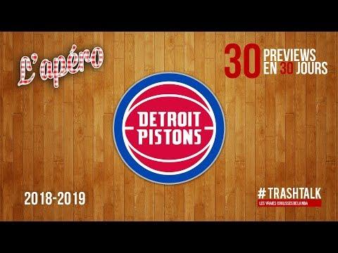 NBA Preview 2018-19 : les Detroit Pistons