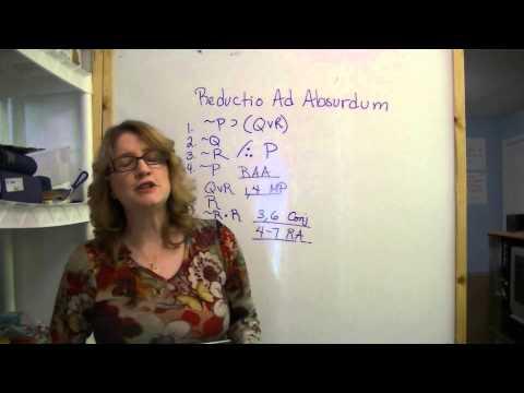 Reductio Ad Absurdum continued, Part 2