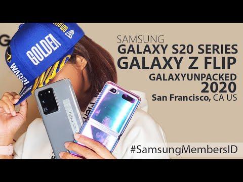 Samsung Galaxy S20, S20+, S20 Ultra dan Galaxy Z Flip , GALAXYUNPACKED2020 Trip San Francisco, CA US
