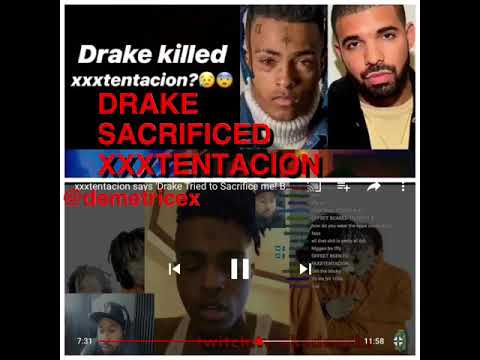 XXXTENTACION: DRAKE ILLUMINATI SACRIFICE
