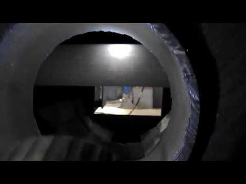 Мощная печь труба в трубе