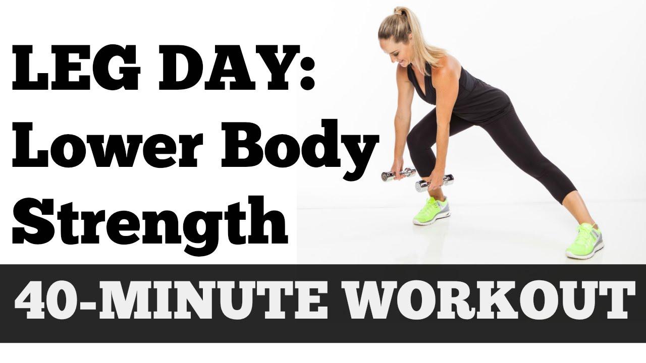 Full Lower Body Exercise Video