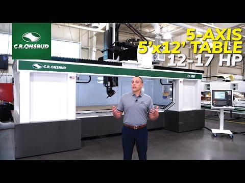 The Qube Series 5-Axis CNC Machine for Composites & Advanced Materials - (Machine Walkthrough)