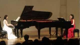 モーツァルト 2台ピアノのためのソナタニ長調 第一楽章