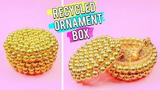 Recycled Ornament Box - Easy 5 Minutes DIY Crafts