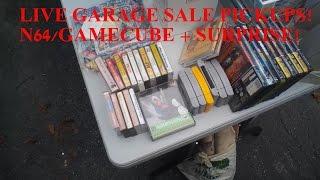 N64 STEAL! (Spy Glasses) Retro Video Game Garage Sale Hunting Week 15:  - MaximusBlack