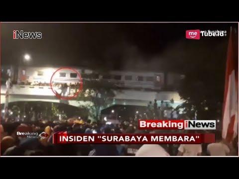 """NGERI! Detik-detik Penonton """"Surabaya Membara"""" Jatuh dari Viaduk - Breaking iNews 09/11 Mp3"""