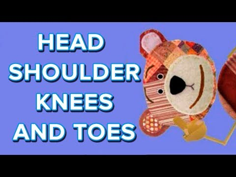 Head, shoulder, knees and toes, canción infantil Videos De Viajes