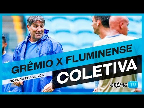 [COLETIVA] Pós-Jogo Grêmio x Fluminense (Copa do Brasil 2017)  l GrêmioTV
