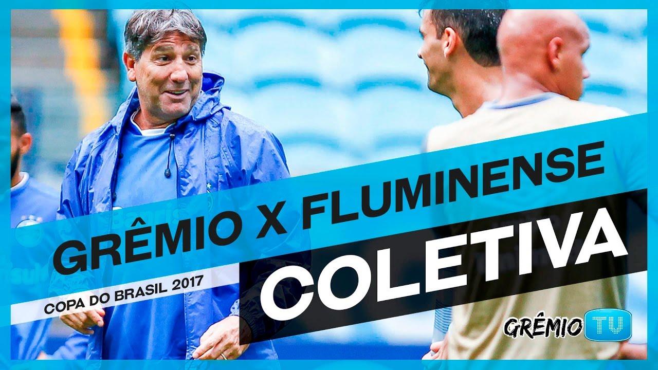 COLETIVA Pós-Jogo Grêmio x Fluminense (Copa do Brasil ...