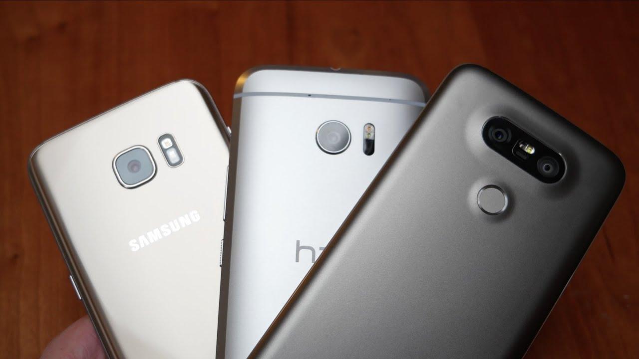 Samsung galaxy s7 vs lg g5 vs apple iphone 6s vs samsung galaxy s6 - Htc 10 Vs Samsung Galaxy S7 Edge Vs Lg G5 Erster Eindruck Deutsch