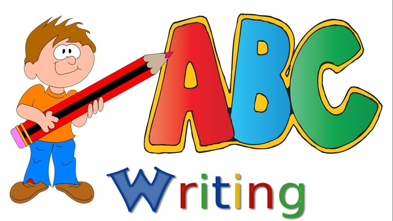 abc writing alphabet writing capital letters upper case letters