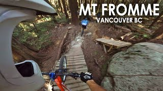 AMAZING DAY Freeriding North Shore | Mt Fromme | With Seth