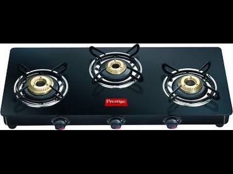 c410f60e4 Unboxing of prestige GTM03L 3 burner glass top gas stove - YouTube