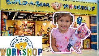 Build A Bear Workshop! Family Fun for Kids and Babies!