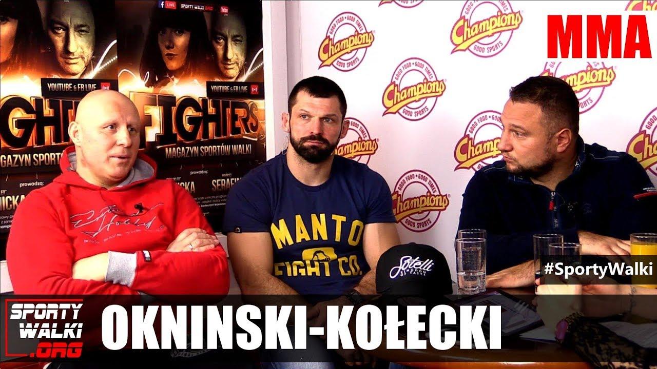 KSW 41: Okniński i Kołecki o walce Janikowski-Chmielewski