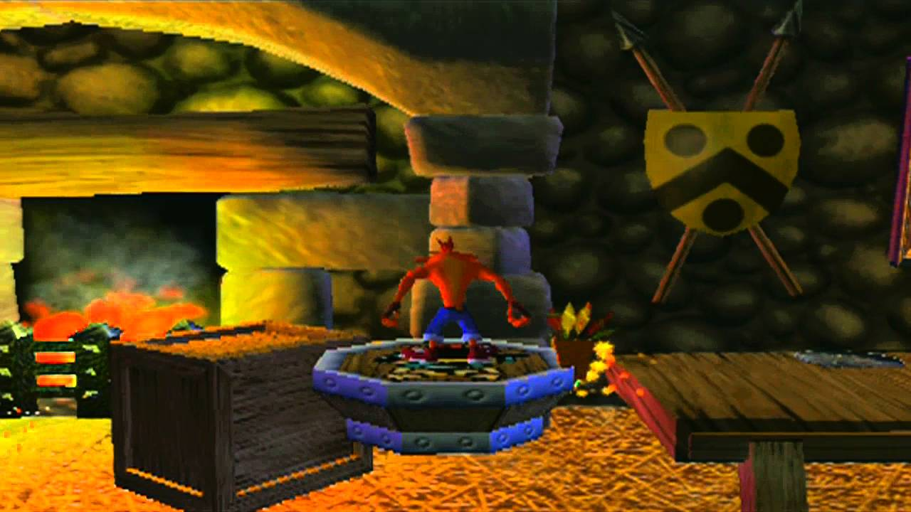 Aninimal Book: Crash Bandicoot: The Wrath of Cortex - Level 4: Wizards ...