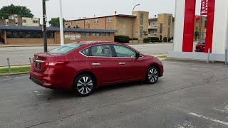 2019 Nissan Sentra Oak Lawn, Countryside, Chicago, Orland Park, Alsip, IL P5747