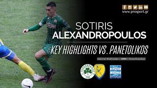 Sotiris Alexandropoulos vs. Panetolikos (29/11/20) | PROSPORT.GR