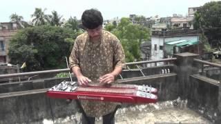 Aj Ei Dintake Moner Khatai Likhe Pramit Das Guitar Kishorekumar Antarale1985BappiLahiri