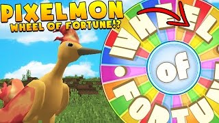 POKEMON WHEEL OF FORTUNE CHALLENGE- PIXELMON MODDED MINIGAME