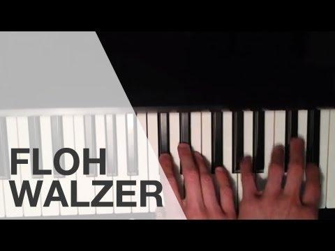 Anleitung: Flohwalzer schnell gelernt auf dem Klavier/ Flohwalzer auf dem Piano lernen