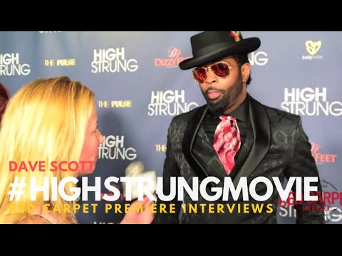 """Dave Scott at the Red Carpet Premiere for """"High Strung"""" #HighStrungMovie"""