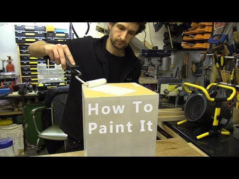 How To Paint it / Plinth Pedestal Podium or Box (for Beginners)