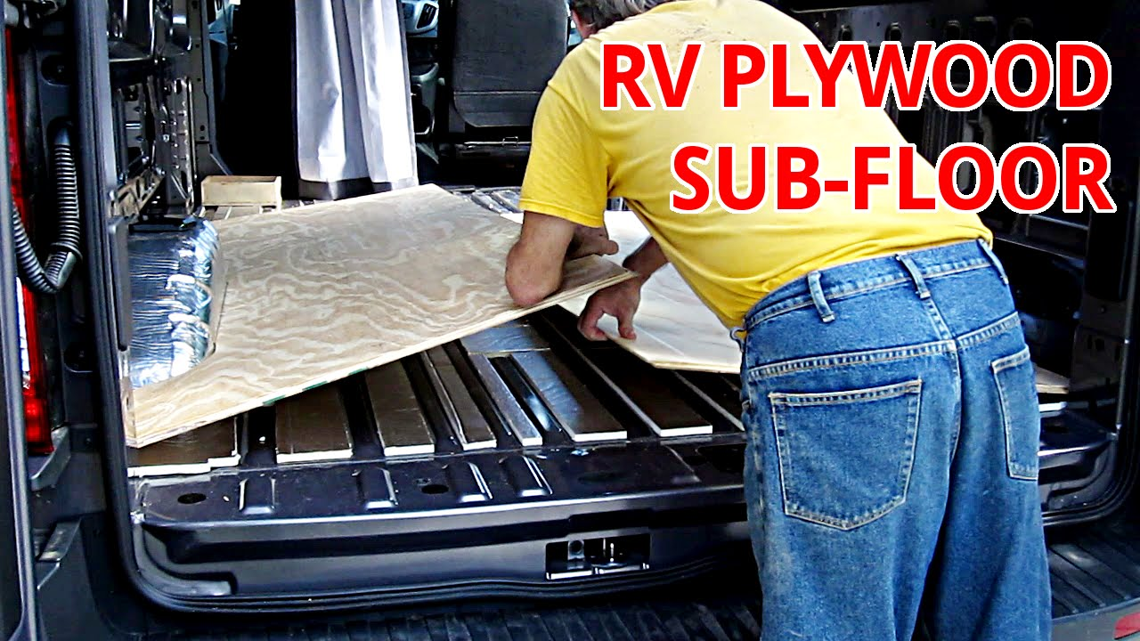 Conversion Van Parts >> How To Lay An Insulated Floor - Part Six - Plywood Sub ...