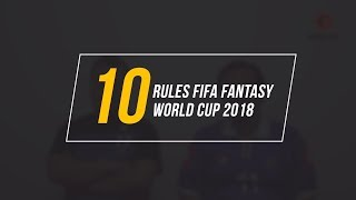 10 Rules FIFA Fantasy Football World Cup 2018 - Jogo TV Indonesia