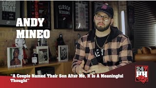 Andy Mineo - A Couple Named Their Son After Me, It Is A Meaningful Thought (247HH Wild Tour Stories)