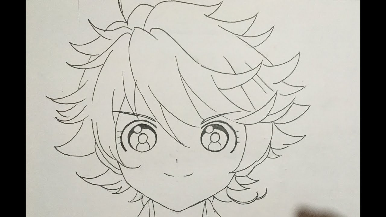 How To Draw Emma Promised Neverland Youtube