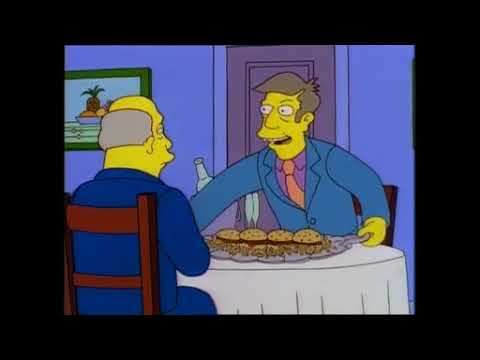 Steamed Hams But Skinner Is Indecisive, Has Short Memory Loss And Chalmers Grunts More.