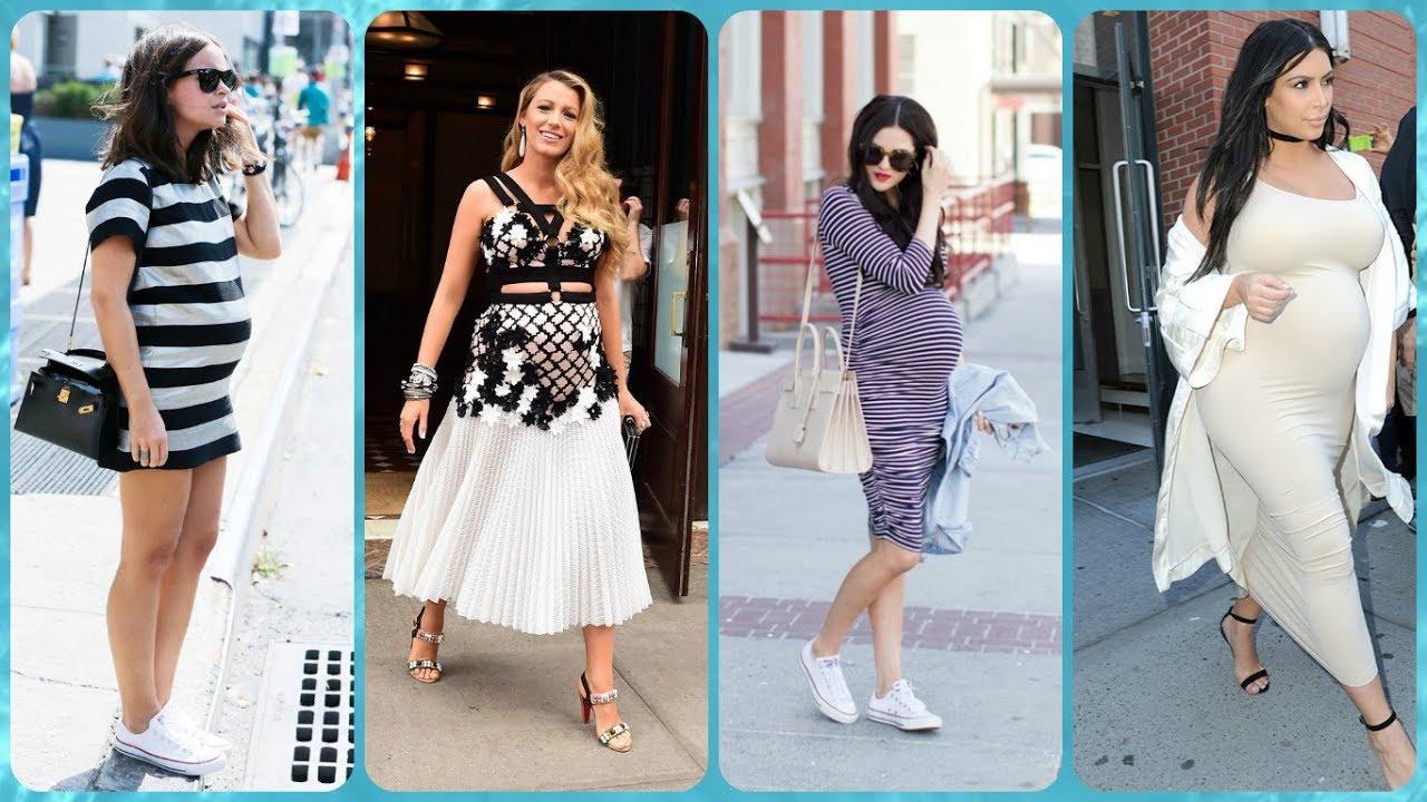 be29499dc7fe TOP 20 sukienka dla kobiet w ciąży trendy w modzie 2018 - YouTube