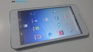 iBall 3G 6095-D20 Tablet basic Review in Malayalam