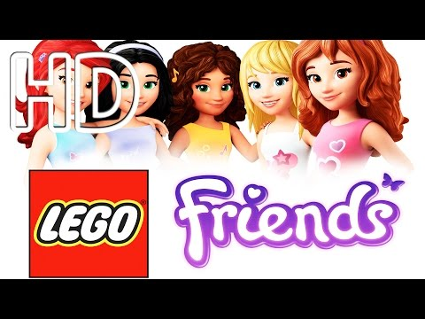 Lego Friends Dress Up Game Full HD
