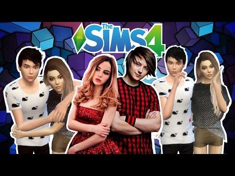 The Sims 4 ✦ Создание Персонажей ✦ EeOneGuy & Maryana Ro ✦